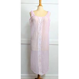 Vintage 1960s Ice Pink Nighty size Medium